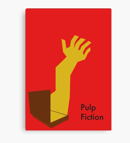 Pulp Fiction Soul Case Canvas Print
