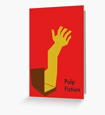 Pulp Fiction Soul Case Greeting Card