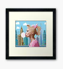 Bubble Gum Framed Print