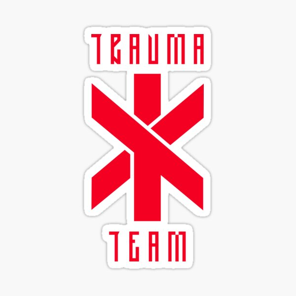 Cyberpunk Trauma Team Sticker