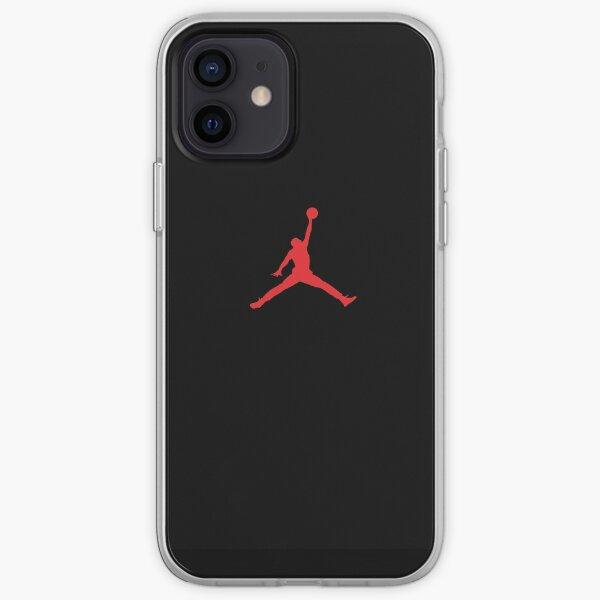 best iphone 12 case black sport basketball iPhone Soft Case