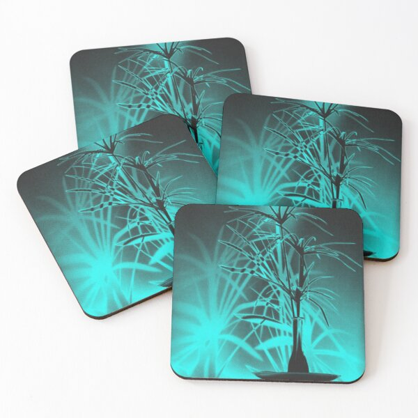 Shadow Art With Texture Coasters (Set of 4)