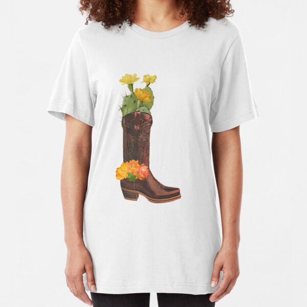 COWBOY SPIRIT Slim Fit T-Shirt