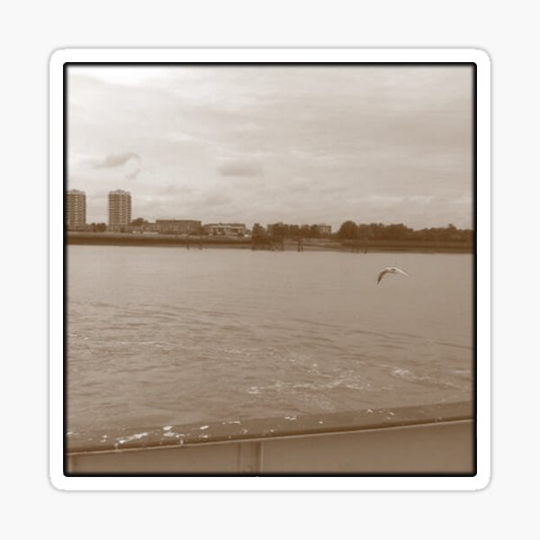 Woolwich Ferry 0101 Sticker