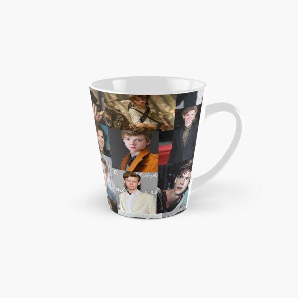 thomas brodie-sangster collage Tall Mug