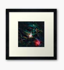 The Rho Ophiuchi cloud complex. Framed Print