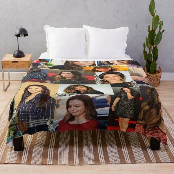 caterina scorsone collage :) Throw Blanket