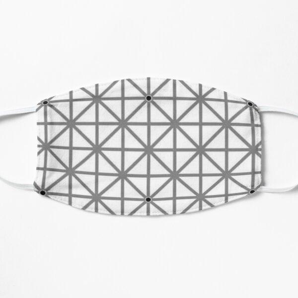 12 dot optical illusion Flat Mask