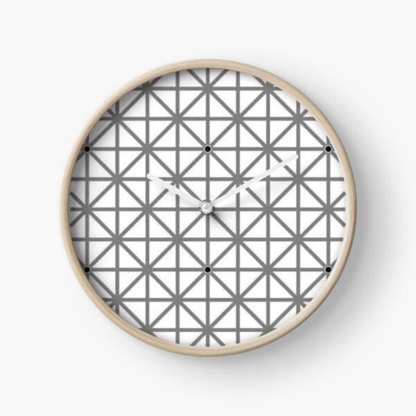 12 dot optical illusion Clock