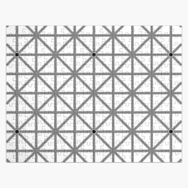 12 dot optical illusion Jigsaw Puzzle