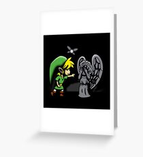 Don't, Link!  Greeting Card