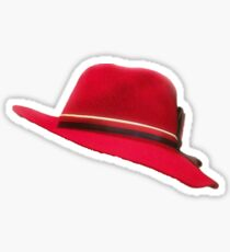 Agent Carter Hat Sticker