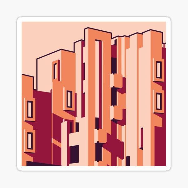 Brutalism 01 Sticker