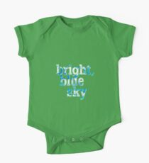 Bright, blue sky One Piece - Short Sleeve
