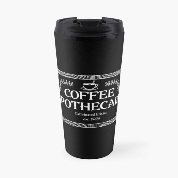 Coffee Apothecary - Black Travel Mug