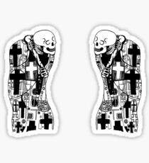Gustav Klimt: Death & Death Sticker
