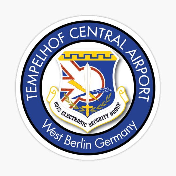 6912th Security Group, Tempelhof Central Airport Logo Sticker