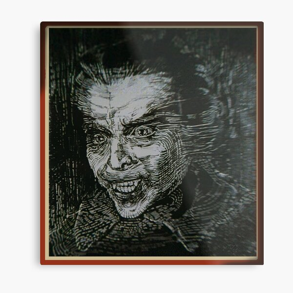 Dracula AD 1972 artwork Metal Print