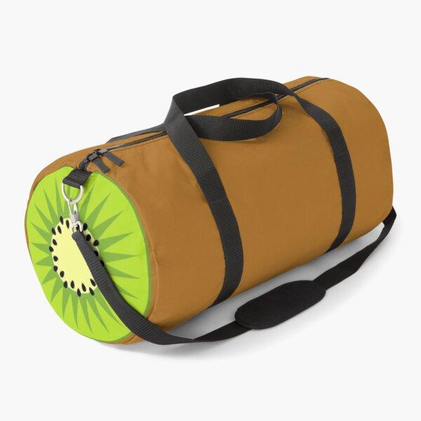 Fresh colourful kiwi fruit gift design Duffle Bag
