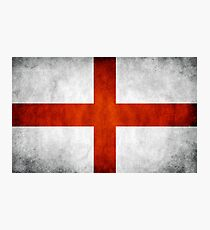 England Flag - St Georges Photographic Print
