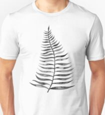 Black Palm Leaf T-Shirt