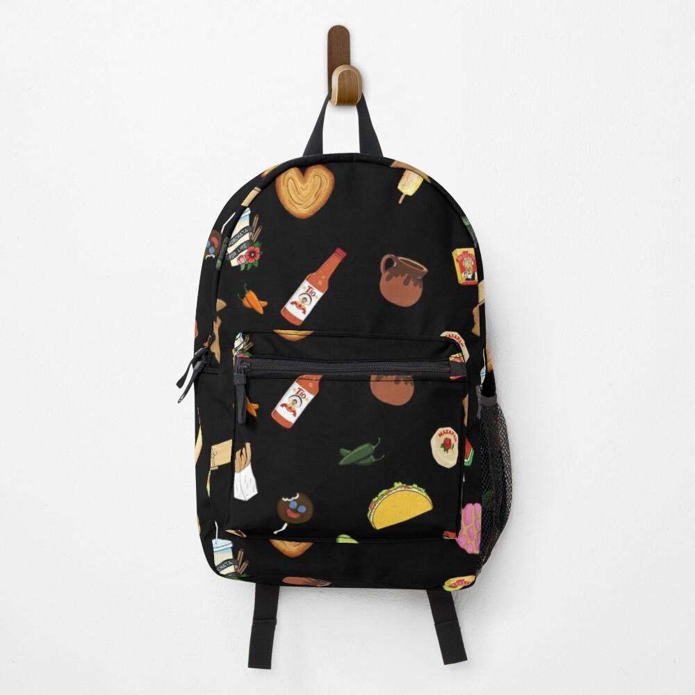 Antojitos - Black Backpack