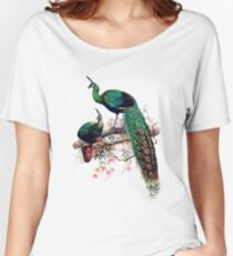 Peacock extravaganza Women's Relaxed Fit T-Shirt