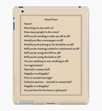 Why are you asking me all of these questions?! iPad Case/Skin