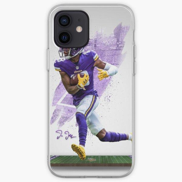 Justin Jefferson Minnesota Sports Art  iPhone Soft Case