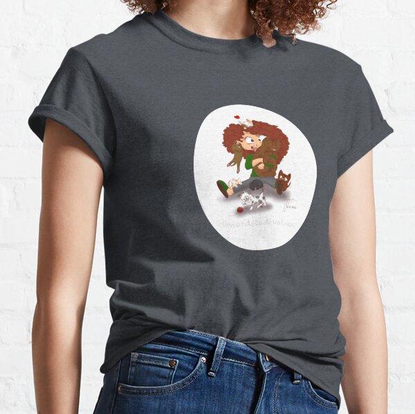 Lovis von den Nordstadtkatzen oval Classic T-Shirt