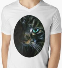 Kitty Men's V-Neck T-Shirt