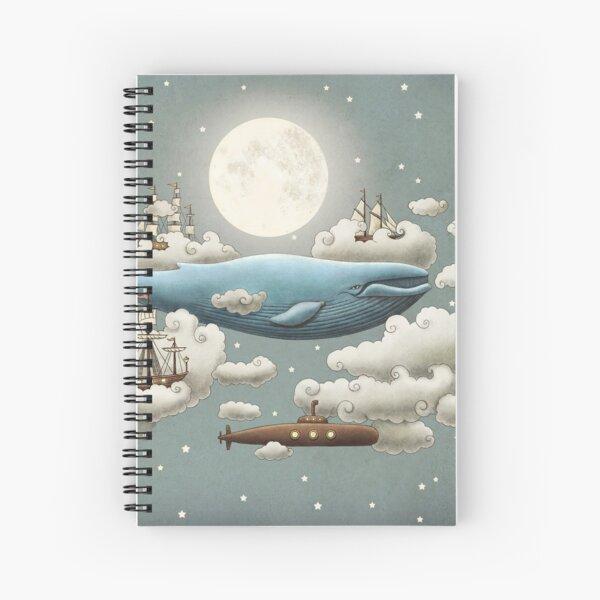 Ocean Meets Sky  Spiral Notebook