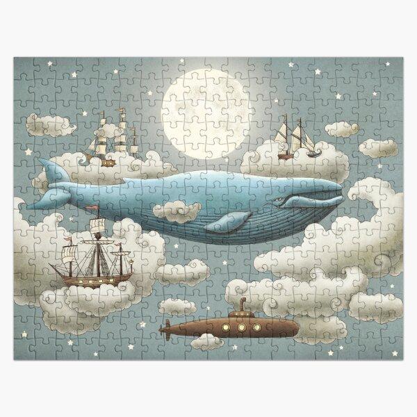 Ocean Meets Sky  Jigsaw Puzzle