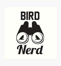 Bird Nerd Art Print