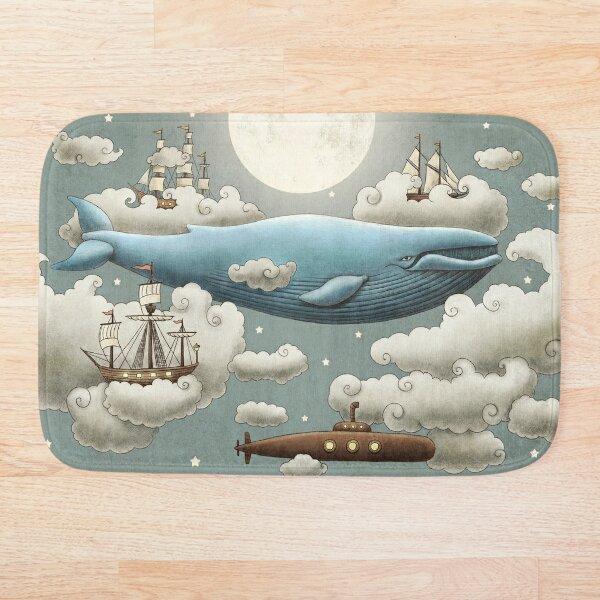 Ocean Meets Sky  Bath Mat