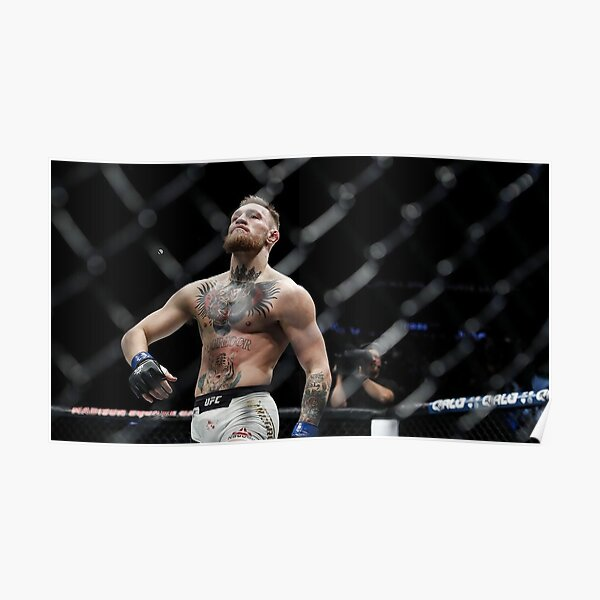 Conor McGregor doing his famous walk Poster