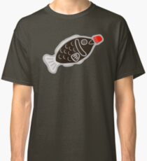 Sushi Soy Fish Pattern in Blue Classic T-Shirt