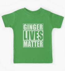 Ginger Lives Matter Kids Tee