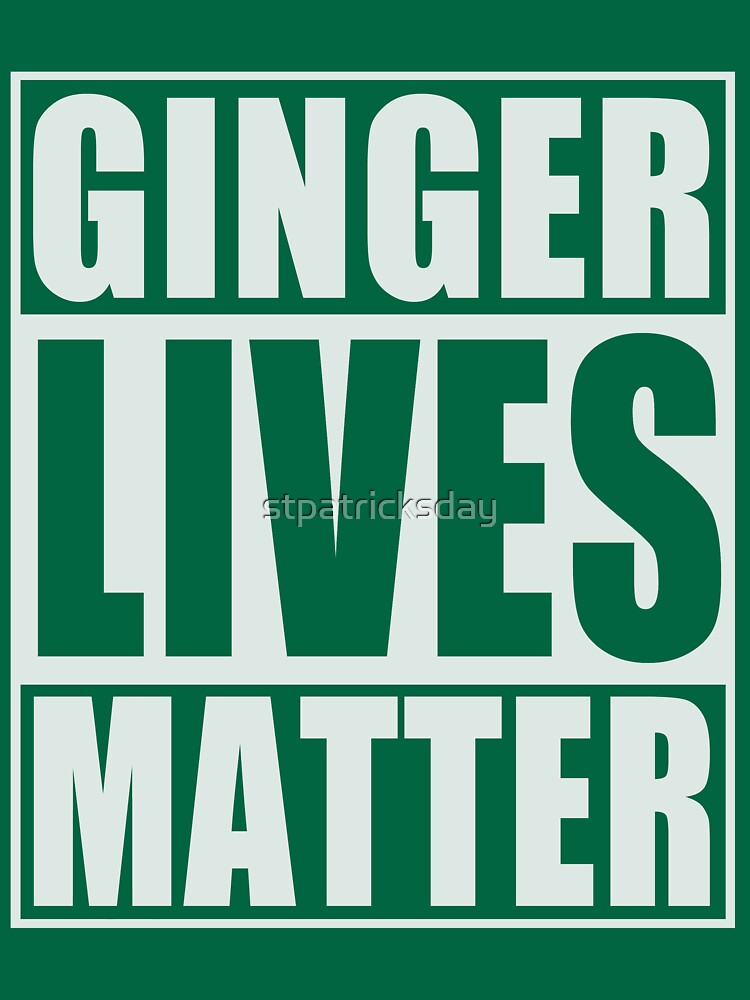 Ginger Lives Matter | Unisex T-Shirt