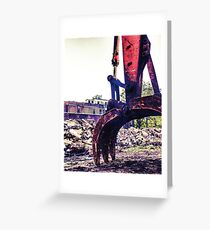 Jaws of destruction  Greeting Card