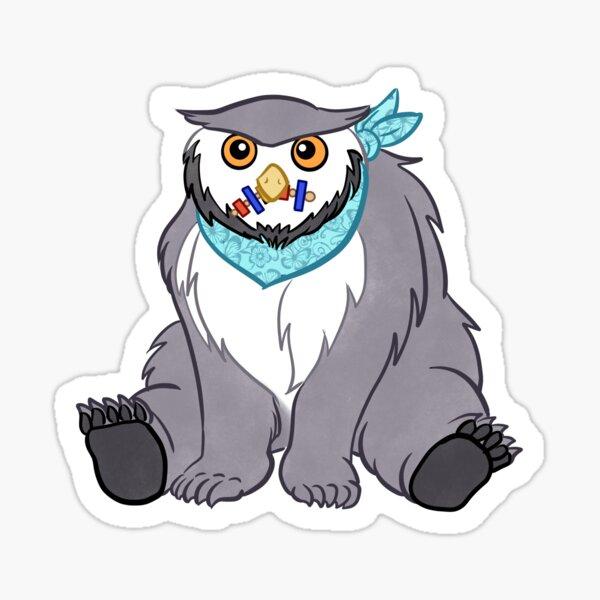 Domesticated Owlbear Sticker