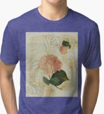 Decoupage Hydra Tri-blend T-Shirt