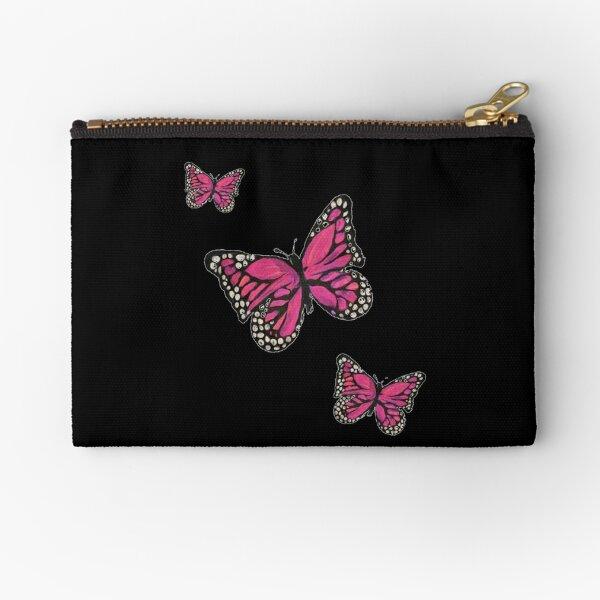 Trio of Butterflies Zipper Pouch