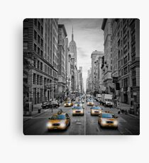 5th Avenue NYC Verkehr  Canvas Print