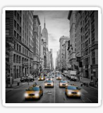 5th Avenue NYC Verkehr  Sticker