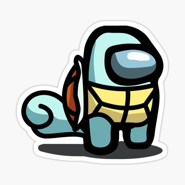water turtle imposter Sticker