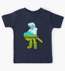 Zelda - Silhouette Kids Tee