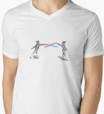 1138 fencing (enhanced) Men's V-Neck T-Shirt