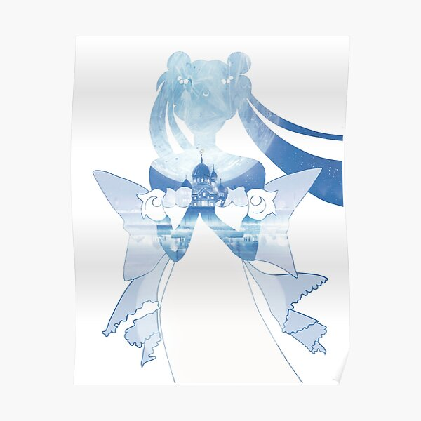 Princess Serenity - Blue Silver Millenium Poster