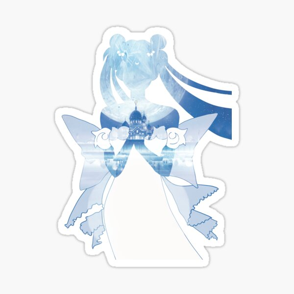 Princess Serenity - Blue Silver Millenium Sticker